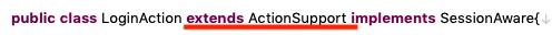 Struts2 actionsupport