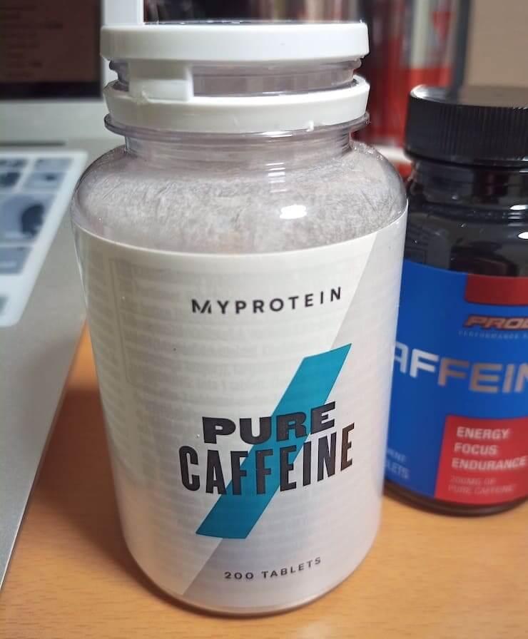 myproteinのピュアカフェイン