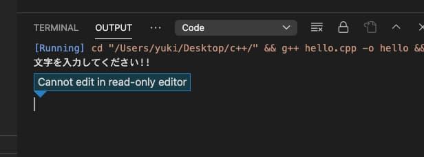 Mac VSCodeでC++の開発環境