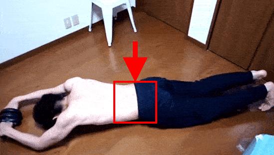 腹筋ローラーの効果:週1回でシックスパック