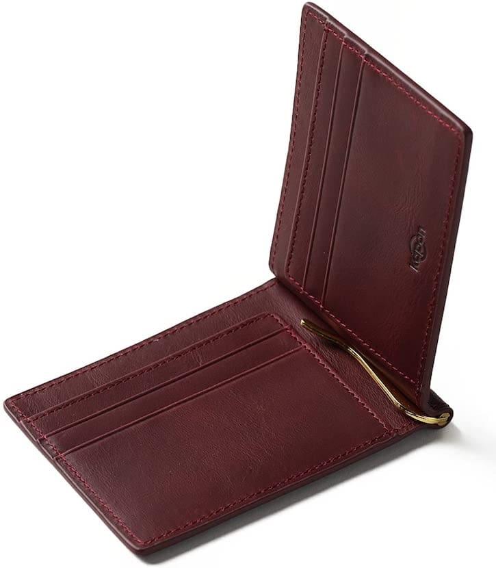 キャッシュレスで長財布からマネークリップへ
